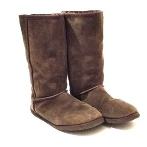 Old Navy Genuine Leather Suede Winter Boots C9